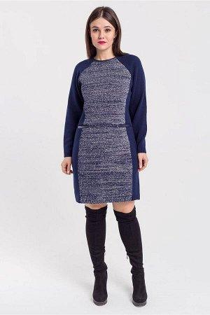 Платье Bonadi Артикул: 1224-2 синий