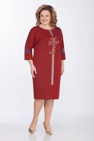 Платье GALEREJA Артикул: 601 красный_трикотаж