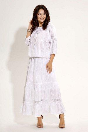 Блуза, юбка Панда 448710p молочный