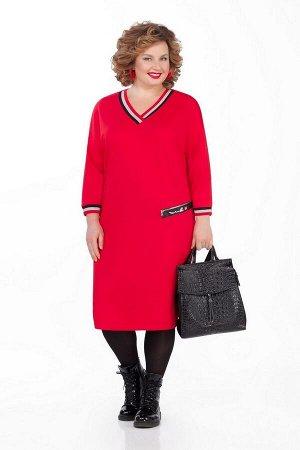 Платье Pretty Артикул: 1000 красный