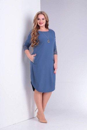 Платье Ollsy Артикул: 1505 голубой