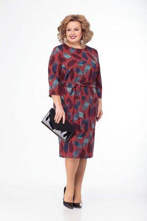Платье Anelli Артикул: 585 бордо