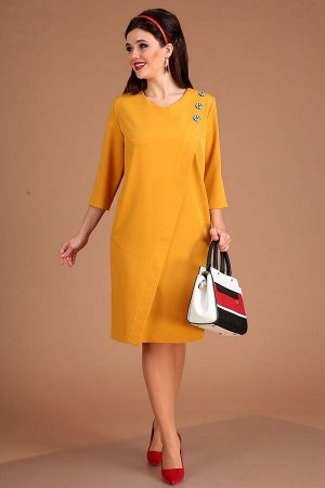 Платье Мода Юрс Артикул: 2534 горчица