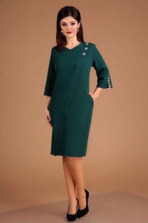 Платье Мода Юрс Артикул: 2534 малахит