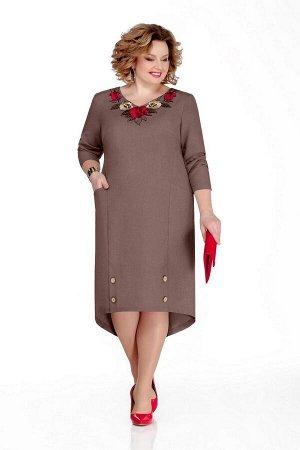 Платье Pretty Артикул: 1052 кофе