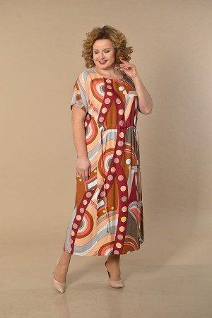 Платье Lady Style Classic Артикул: 1605 яркий_тон