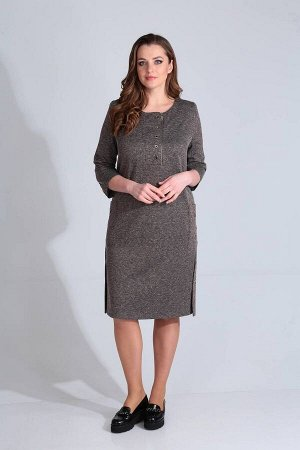 Платье Viola Style Артикул: 0904 серый