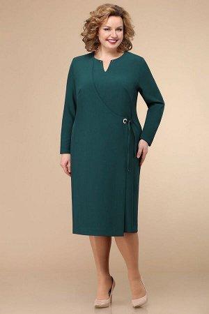 Платье Линия Л Артикул: Б-1772 зеленый
