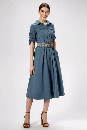 Платье Панда Артикул: 476080 темно-голубой