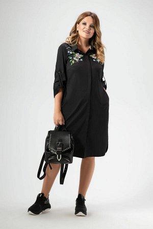 Платье Панда Артикул: 455180 черный