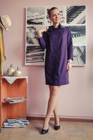 Платье Arisha Артикул: 1221-1 пурпурный