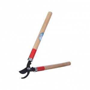 """Сучкорез плоскостной, 17.7"""" (45 см), деревянные ручки"""