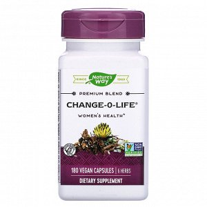 Nature&#x27 - s Way, Change-O-Life, Women&#x27 - s Health, 180 Vegan Capsules