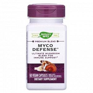 Nature&#x27 - s Way, Premium Blend, Myco Defense, 60 Vegan Capsules