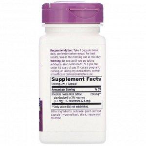 Nature&#x27 - s Way, Rhodiola, 250 mg, 60 Vegan Capsules