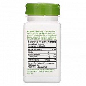 Nature&#x27 - s Way, Кора ункарии опушенной, 485 мг, 100 вегетарианских капсул