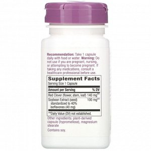 Nature&#x27 - s Way, Premium Blend, Soy Isoflavones, 100 mg, 60 Vegan Capsules