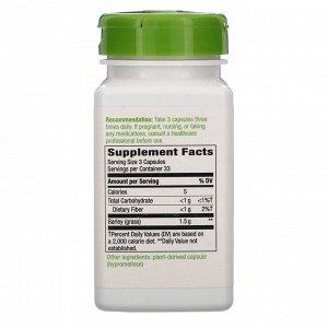 Nature&#x27 - s Way, Barley Grass, Young Harvest, 1,500 mg, 100 Vegan Capsules