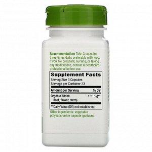 Nature&#x27 - s Way, Alfalfa, 1,215 mg, 100 Vegan Capsules