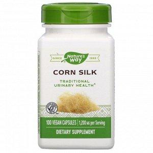 Nature&#x27 - s Way, Corn Silk, 1,200 mg, 100 Vegan Capsules
