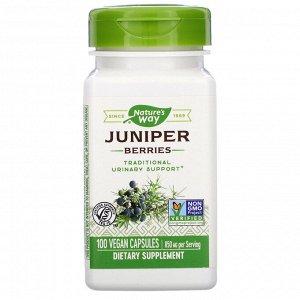 Nature&#x27 - s Way, Juniper Berries, 850 mg, 100 Vegan Capsules