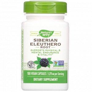 Nature&#x27 - s Way, Siberian Eleuthero Root, 1,275 mg, 100 Vegan Capsules