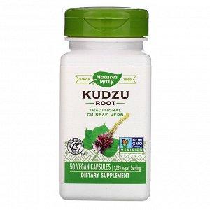 Nature&#x27 - s Way, Kudzu Root, 1,226 mg, 50 Vegan Capsules