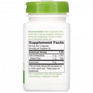 Nature&#x27 - s Way, Suma Root, 1,500 mg, 100 Vegan Capsules