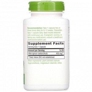 Nature&#x27 - s Way, Плоды витекса, 400 мг, 320 веганских капсул