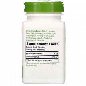 Nature&#x27 - s Way, Плоды лимонника, 580 мг, 100 растительных капсул