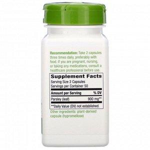 Nature&#x27 - s Way, Parsley Leaf, 900 mg, 100 Vegan Capsules