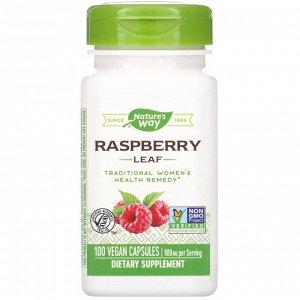 Nature&#x27 - s Way, Raspberry Leaf, 900 mg, 100 Vegan Capsules