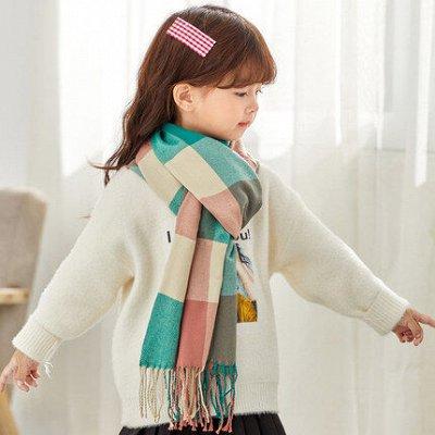 Пуховики, куртки, зимняя обувь! Только для детей!  — Шарфы детские — Платки, шарфы и шали