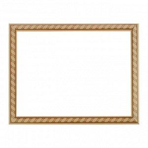 Рама для картин (зеркал) 30 х 40 х 3.0 см. дерево. липа. «Грация»