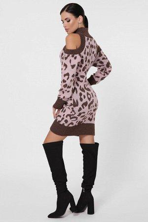 Платье леопард ADELIS VPA0002