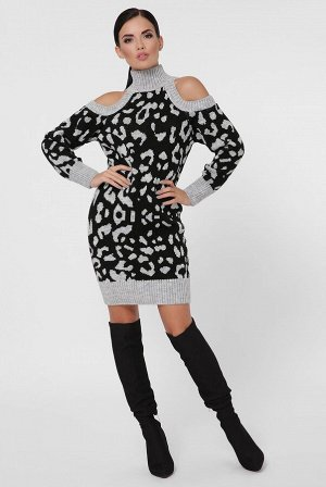 Платье леопард ADELIS VPA0005