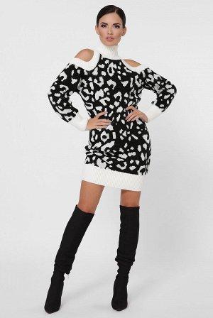 Платье леопардовое VPA0004