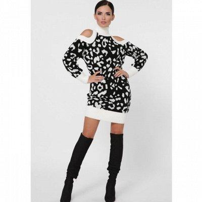 F@SHION UP и LARIONOFF -одежда для женщин. Новинки/Акция-20% — Платья вязаные — Одежда