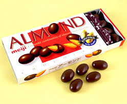 Альмонд MEIJI миндаль в шоколаде, 88 гр