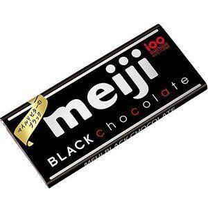 Шоколад MEIJI черный, 50 гр