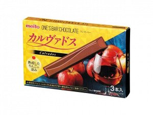 Шоколад Meito со вкусом кальвадоса 30гр