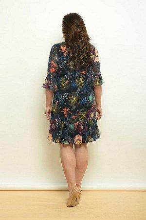Платье, туника Lady Style Classic 1566 т.синий