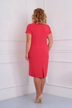 Блуза, платье Diamant 1454 коралл