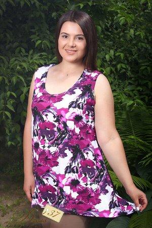 Блуза «Шарм» фиолетовая