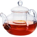 24940 Заварочный чайник стекло 1 л с/кр МВ (х16)