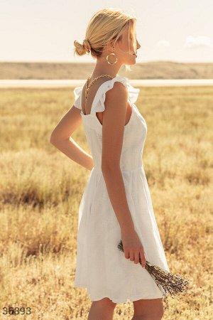 Белый летний сарафан