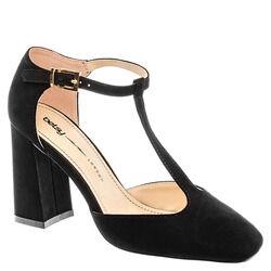 987106/01-01 черный иск.замша женские туфли