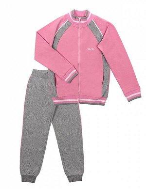 Костюм Для Девочки 9655 (Куртка, Брюки) св. розовый