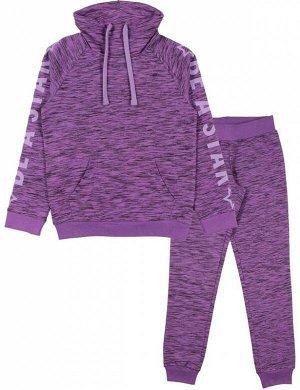 Костюм Для Девочки 9859 (Куртка, Брюки) лиловый
