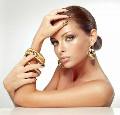 Дубайское золото — роскошно и изысканно. И Серебро